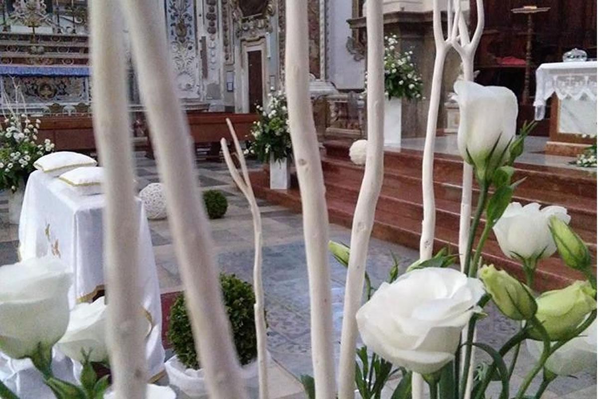 Sposi Serena e Fabrizio Chiesa San Nicola di Bari (Duomo) - Termini Imerese